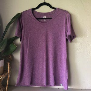 REI Hiking Fitness Scoop Neck Tee Shirt L